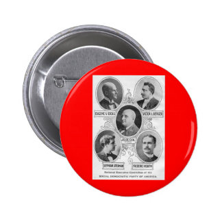 American Social-democratic-party-1900 6 Cm Round Badge