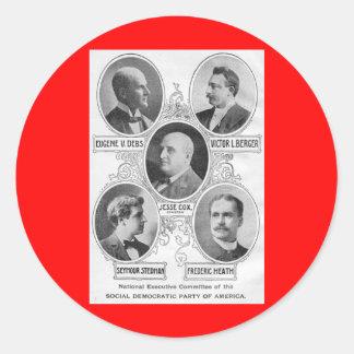 American Social-democratic-party-1900 Stickers