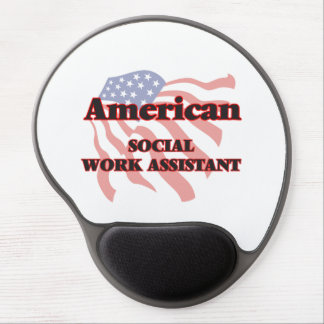 American Social Work Assistant Gel Mouse Pad