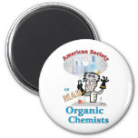 American Society of Mad Organic Chemists Refrigerator Magnet