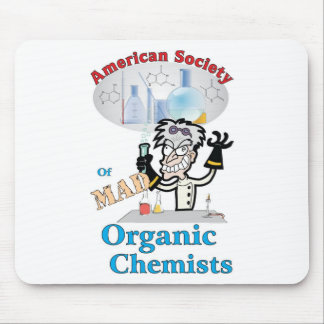 American Society of Mad Organic Chemists Mouse Mat