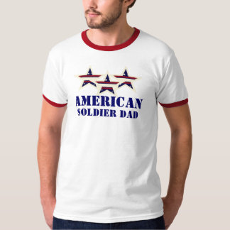 AMERICAN SOLDIER DAD SHIRT