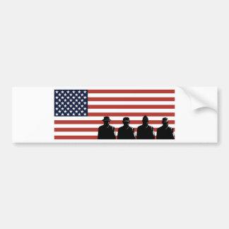 american soldier military serviceman bumper stickers