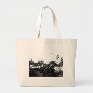 American Soldiers on the Piave Front World War I Jumbo Tote Bag