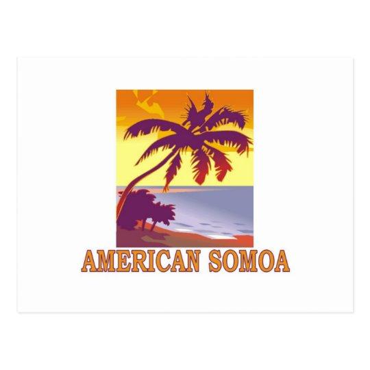 American Somoa Postcard