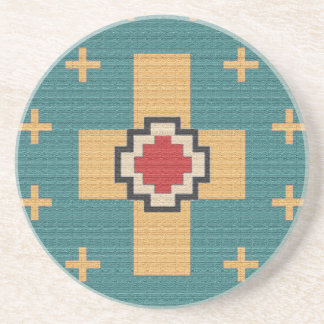 American Southwest Indian Pattern Coaster