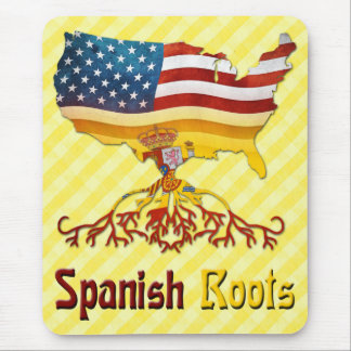 American Spanish Roots Mousemat