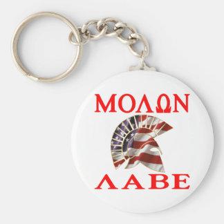 American Spartan Molon Labe Keychain