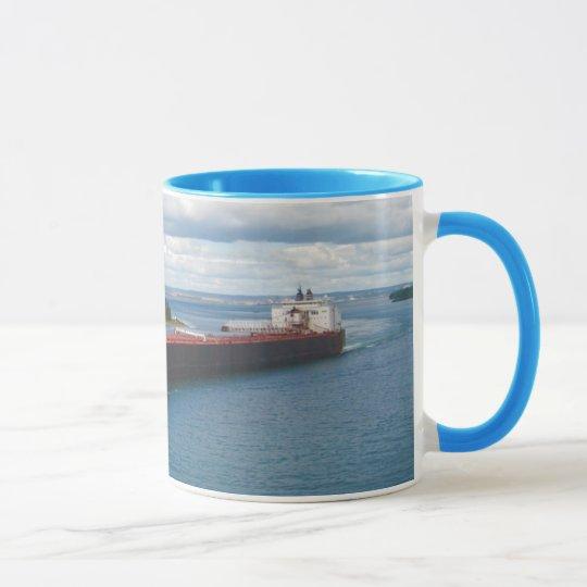 American Spirit , Great Lakes Ship Mug