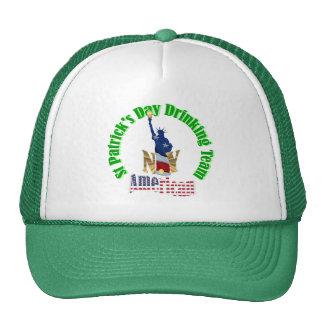 American St Patrick's day Cap