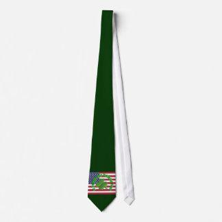 American St Patrick's day Tie