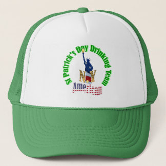 American St Patrick's day Trucker Hat