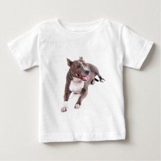 american staffordshire burrow baby T-Shirt