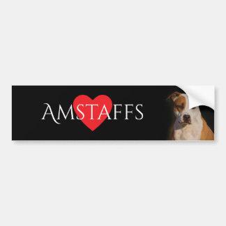 American Staffordshire Terrier Bumper Sticker