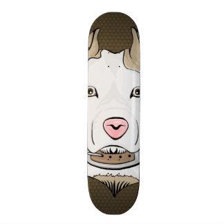 American Staffordshire Terrier Head Skateboard