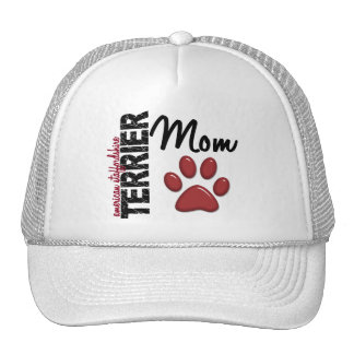 American Staffordshire Terrier Mom 2 Mesh Hat