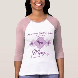 American Staffordshire Terrier Mom T-Shirt