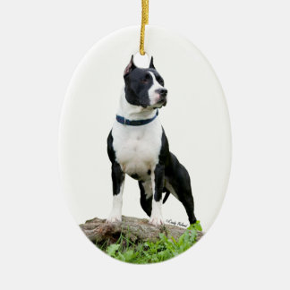 American Staffordshire Terrier (Pit Bull) Ornament