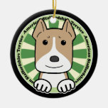American Stafforshire Terrier Christmas Ornaments