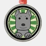 American Stafforshire Terrier Christmas Tree Ornament