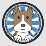 American Stafforshire Terrier Stickers