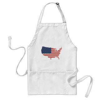 American Standard Apron