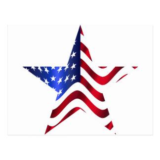 American Star Postcard