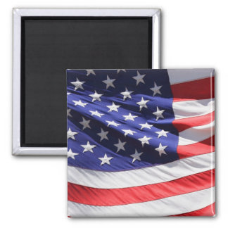 American stars and stripes US flag magnet, gift Square Magnet
