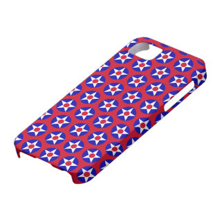 American Stars Red CaseMate Case For The iPhone 5