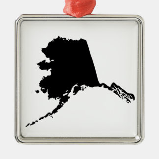 American State of Alaska Christmas Ornament