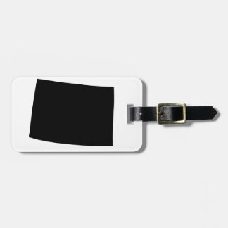 American State of Colorado Luggage Tag