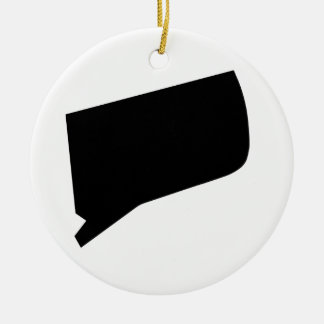 American State of Connecticut Christmas Ornament