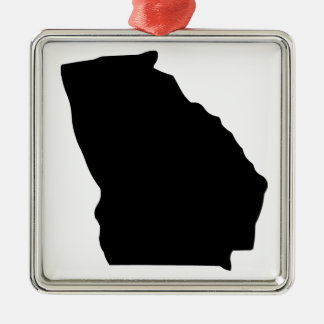 American State of Georgia Christmas Ornament