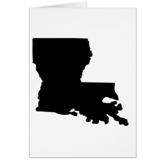 American State of Louisiana Card