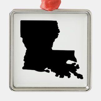 American State of Louisiana Christmas Ornament