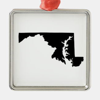 American State of Maryland Christmas Ornament