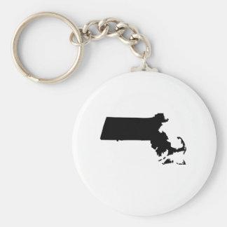 American State of Massachusetts Key Ring