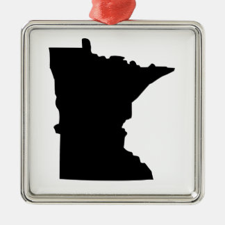 American State of Minnesota Christmas Ornament