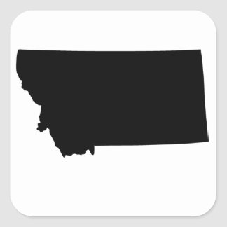 American State of Montana Square Sticker