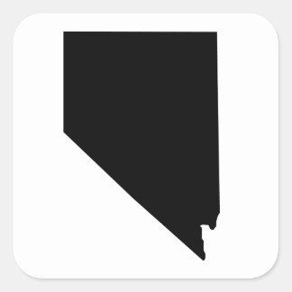American State of Nevada Square Sticker