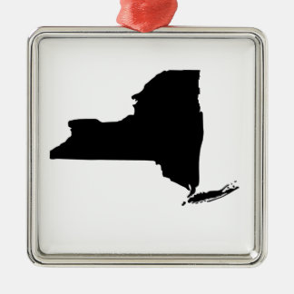 American State of New York Christmas Ornament