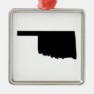 American State of Oklahoma Christmas Ornament