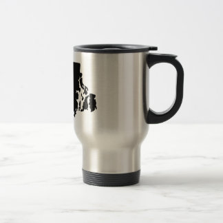 American State of Rhode Island Travel Mug