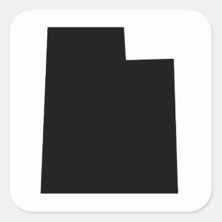 American State of Utah Square Sticker