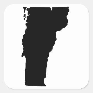 American State of Vermont Square Sticker