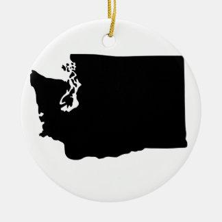American State of Washington Round Ceramic Decoration