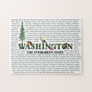 American States - Washington Jigsaw Puzzle