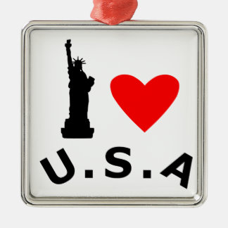 American Statue of Liberty Christmas Ornament