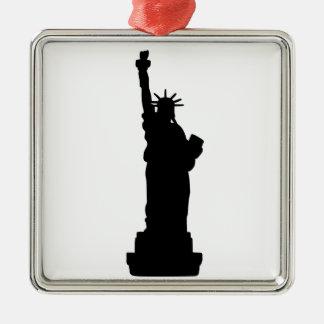 American Statue of Liberty Christmas Ornament