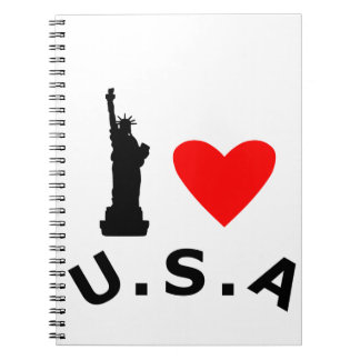 American Statue of Liberty Note Books